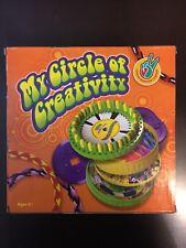 My Circle of Creativity Friendship Bracelets Lanyards Key Chain Craft Kit New!