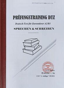 Prüfungstraining DTZ * Deutsch-Test für Zuwanderer A2 B1 * Sprechen & Schreiben