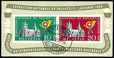 "SWITZERLAND 352a (Mi B15) - National Philatelic Exhibition ""Cathedral"" (pf99002)"
