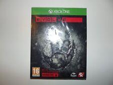 jeu xbox one evolve inclus pack d'extension monstre neuf en français .