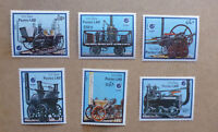 1988 LAOS EARLY RAILWAYS SET OF 6 MINT STAMPS MNH ESSEN '88