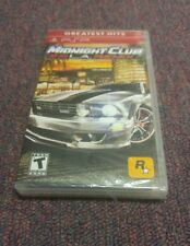 Midnight Club  L.A. Remix  (PlayStation Portable, 2008) Brand New