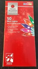 NEW Home Accents Holiday 50 Mini Multi-Color Christmas Lights