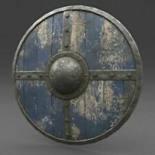 Medieval Viking Armour Shield Fully Functional Medieval wooden Shield For Battle