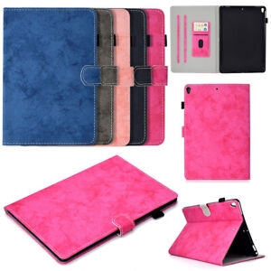 "For iPad 7th /8th Generation 10.2"" Luxury Smart Magnetic Wallet Stand Case Cover"