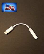Headphone Converter Adapter Cable 3.5mm Aux fits iPhone 7/7 Plus UP TO iOS 10.2