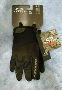 Oakley Factory Lite Tactical Lightweight Size Large (L) Men's Gloves, Jet Black