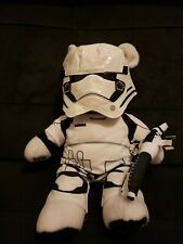 18 Inch Star Wars Storm Trooper With Outfit Plush Build A Bear with Blaster