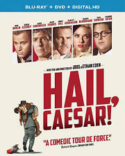 HAIL CAESAR (Blu-Ray + DVD) NEW Factory Sealed, Free Shipping No Slip