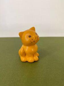 Vintage 80s - My Little Pony G1 -  Twinkles - Orange / Ginger Cat Accessory