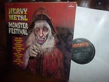 "Heavy Metal Monster Festival, Bon Jovi, Deep Purple, Kiss, Mercury Club  LP, 12"""