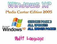 WINDOWS XP MEDIA CENTER EDITION 2005 | MULTI LANGUAGE