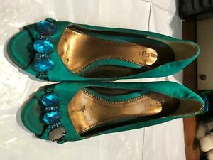 Womens Shoes Phase Eight Size Uk 7 Colour Green