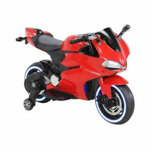 Ducati Motorbike Replica, 12V Electric Ride On Toy - Red