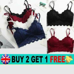 UNDERWEAR SHEER LACE PUSH UP 32-42 BRIEFS KNICKERS SETS BRA PADDED Girls
