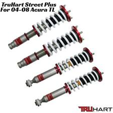"""TRUHART Street Plus Coilover Kit Adjustable for 04-08 Acura TL Up to 3"""" Drop"""
