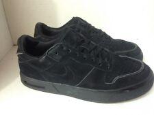 Nike Air Low Black On Black Suede US 10 Men's