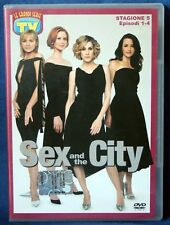 SEX AND THE CITY - STAGIONE 5 - EPISODI 1-4 - DVD n.02801