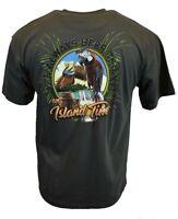 NEWPORT BLUE Mens T Shirt Hawaiian Surf Outdoor Beach Hawaiian Graphic Beer Tee