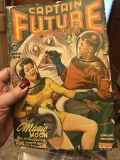 CAPTAIN FUTURE wizard Of Science Winter 1943 Pulp Fiction Magazine