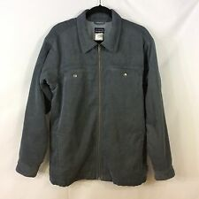 Patagonia Corduroy Fleece Lined Full Zip Jacket Shirt Pockets Size M Medium #