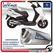 Leovince Granturismo Echappement complet approuve CE Peugeot Satelis 125 06>2013