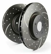 EBC GD573 TURBO GROOVED BRAKE DISCS Rear