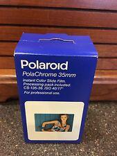 Polaroid High Contrast PolaChrome 35mm Instant Color Slide Film. EXP Sept 98