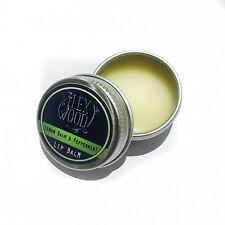 Vegan Lemon Balm & Peppermint Lip Balm - 10ml - Heals Soothes Coldsores & More
