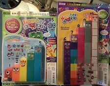 Numberblocks Cbeebies magazine 1-5 & 6-10 toy Number Blocks, Great 👍 For Kids