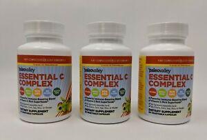 Essential C Complex Vitamin C Food Supplement 3-Pack Paleo Valley