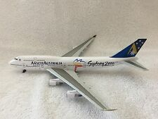 "RARE VINTAGE TWIN STAR ANSETT AUSTRALIA B747-400 -  ""SYDNEY 2000""  - NEW IN BOX"