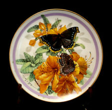 """Butterfly Garden by Hamilton Collection Plate 9 1/4"""""""