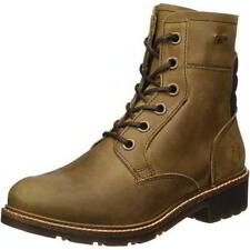 Fly London Silo Womens Waterproof Brown Leather Chukka Ankle Boots Size UK 4-8