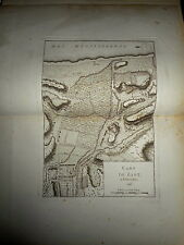 71 - CARTE MAP PLANS Campagne ITALIE 1745 & 1746 BIOT CHEMIN D'ANTIBES  1775