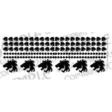 Ginfritter's Gnomish Workshop WARLION002 Lion Head Decal in Black + Warhammer