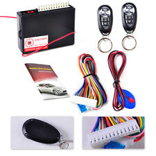 Universal Car Vehicle Keyless Entry System Central Door Lock Control 2 Remote