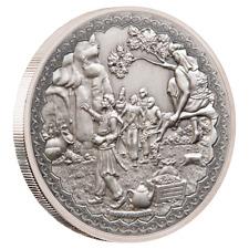 Niue 2 Dollar 2019 - Ali Baba und die 40 Räuber (1.) - 1 Oz Silber Antik Finish