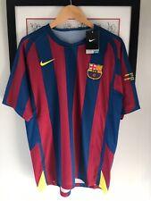 Mens FC Barcelona Football Shirt Champions League Final 2006 Embroidery Large L