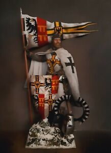 "12"" CUSTOM TEUTONIC KNIGHT GRAND MASTER, MEDIEVAL GERMAN ORDER 1/6 FIGURE IGNITE"