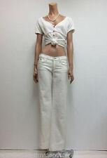 Hosengröße W29 stonewashed Damen-Jeans aus Denim