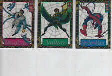 The Amazing:Spider-Man:1st Edition-1994-Lot 19- 3 Cards