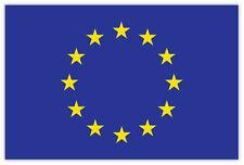 Unione europea European Union bandiera flag etichetta sticker 15cm x 10cm