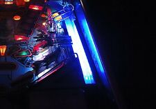 TERMINATOR 2 T2  Pinball shooter lane light mod BLUE