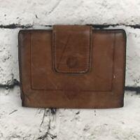 Vintage Princess Gardner Brown Leather Wallet