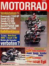 Motorrad 11 1981 Aspes Navaho Kreidler Mustang CX500 Vespa 80X XS1100S Egli Grey