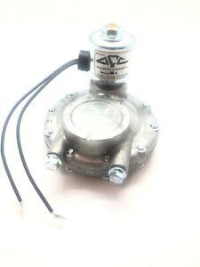 LP Gas Filter Shutoff 12V Advanced Fuel Components Model 142
