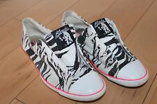 CONVERSE ALL-STAR Low-Cut BLONDIE Zebra SHOES ** 2009 Size 6 / RARE L@@K