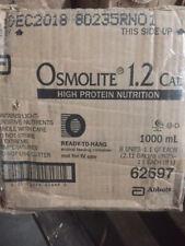 (Case of 8)  ABBOTT NUTRITION Osmolite 1.2 Cal RTH 1000 mL Model: 62697
