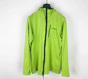 Patagonia R1 Regulator Hoodie Full Zip Jacket Waffle Hoody Neon Green XL X-large